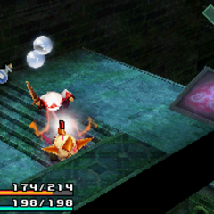 Jumping on the enemy damages the player.