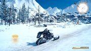 Промпто и Аранея на снегоходе ЭпПр ФФ15