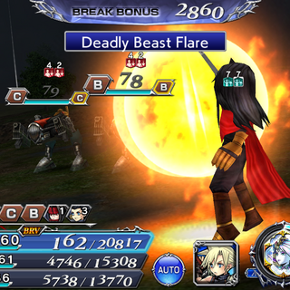 Deadly Beast Flare.