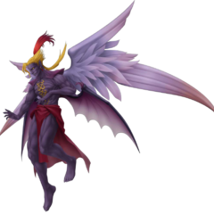 Изображение Кефки в Форме Бога мз <i>Dissidia Final Fantasy</i>.