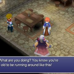 Cid's daughter in <i>The After Years</i> (Steam, Kain's Tale).
