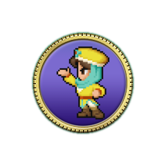 Achiement icon. (iOS)