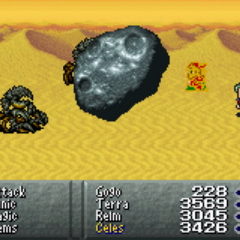 Punishing Meteor (GBA).