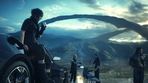 Final Fantasy 15 Final Fantasy XV - Open World Gameplay (PS4)