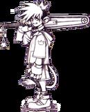 KH Sora Concept Art