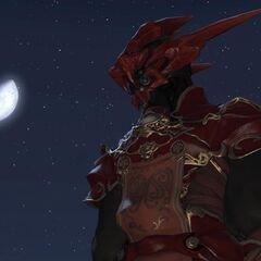 Nero com capacete.
