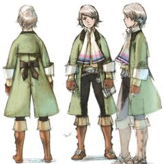 Concept art of Arc by Akihiko Yoshida.