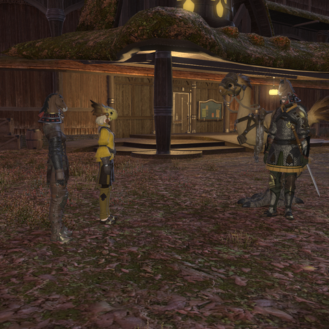 Screenshot of a cutscene that ensues during the event's quest.