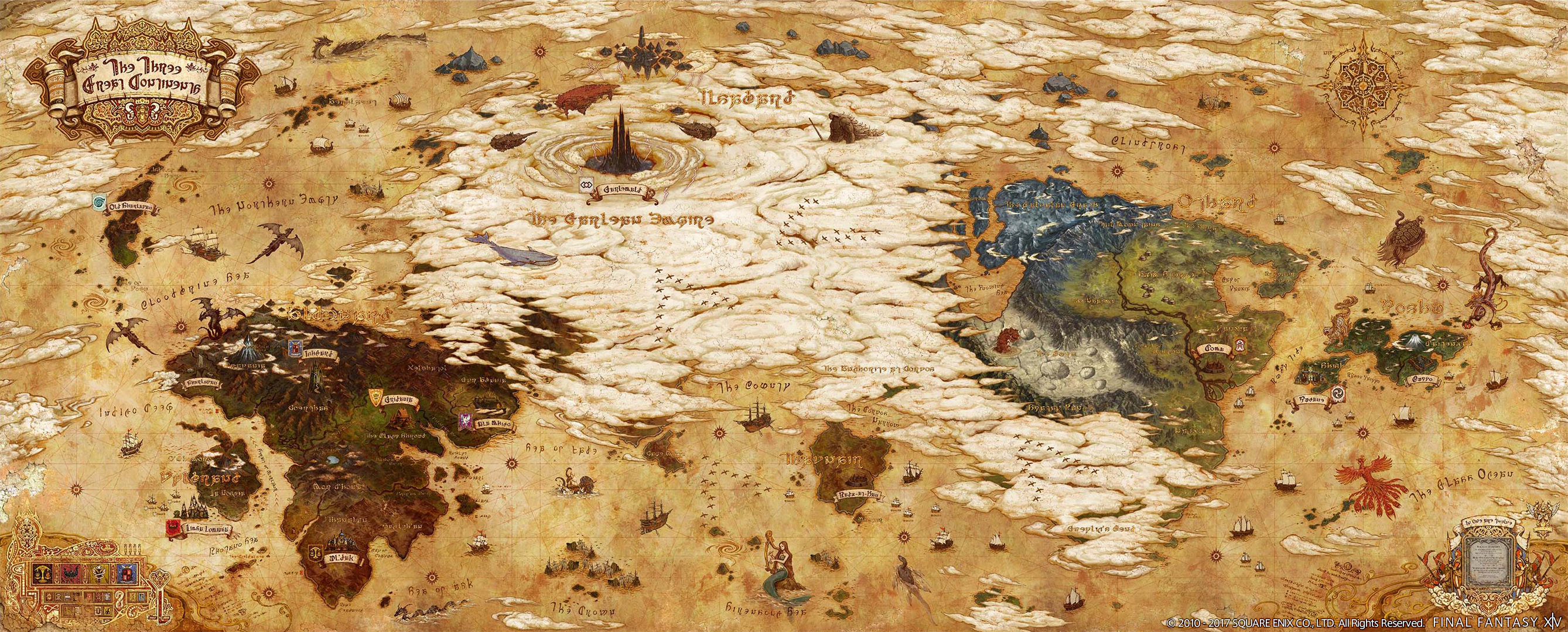 Hydaelyn final fantasy wiki fandom powered by wikia view from space map gumiabroncs Image collections