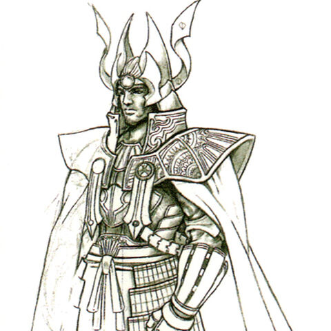 Arte conceitual de <i>Final Fantasy 25th Memorial Ultimania</i>.