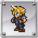 DFFNT Player Icon Cloud Strife FFRK 001