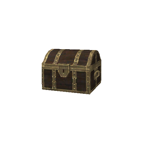 Brown Treasure Casket.