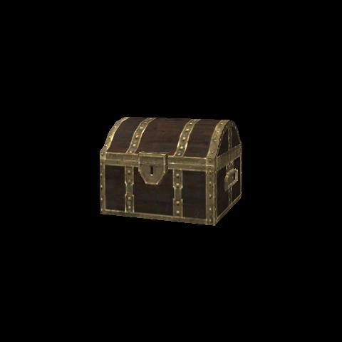 Brown Treasure Casket.