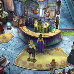 The inn in <i>Final Fantasy X</i>.