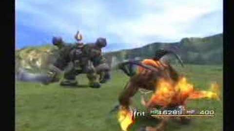 Final Fantasy X - Ifrit - Meteorstrike & Hellfire