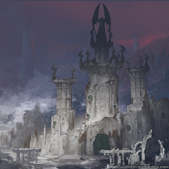 Promotional artwork for <i>Heavensward</i>.