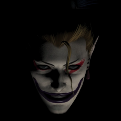 Teaser image for Kefka for <i>Final Fantasy XIV</i>.