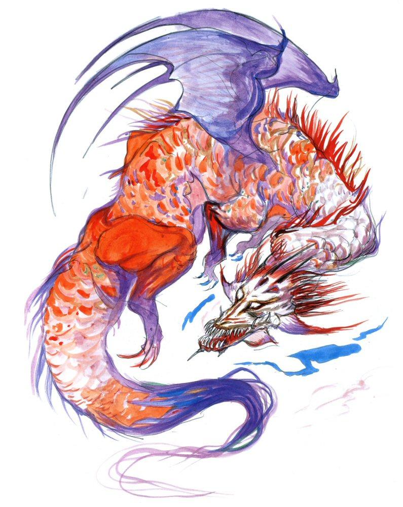 Red Dragon Final Fantasy Iii Final Fantasy Wiki Fandom Powered
