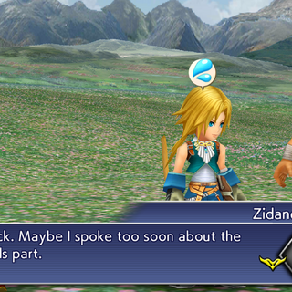 Zidane comments on Alisaie's strength.