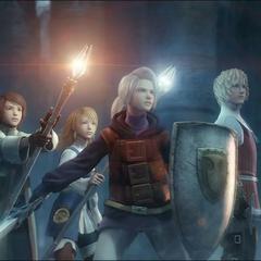 O grupo na abertura (DS)