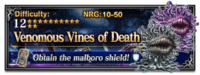 FFBE Venomous Vines of Death