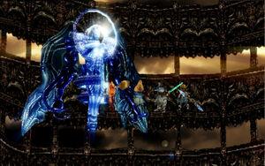 Necron battle