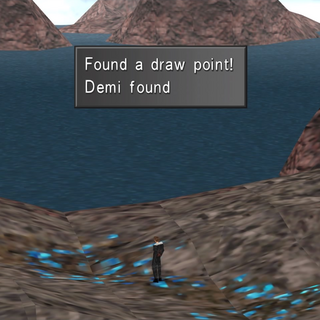 Draw point on the world map.