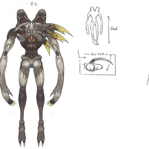 Unused enemy design for <i><a href=