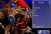 Zeromus final bestiary ffiv ios