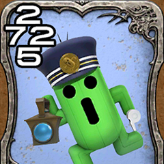 Cactuar Conductor from <i>World of Final Fantasy</i>.