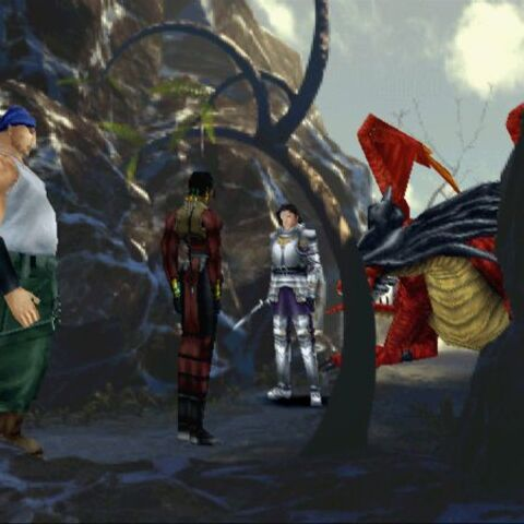 Laguna, Kiros, Ward and the Ruby Dragon.