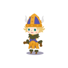 Male Viking in <i><a href=