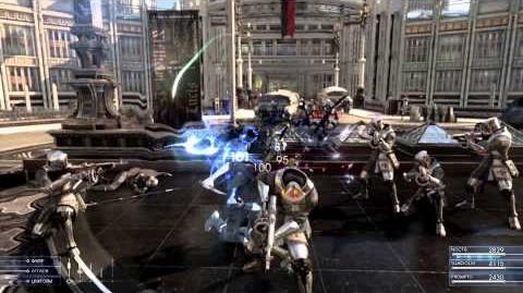 FINAL FANTASY XV - Aperçu du système de combat en jeu (E3 2013)