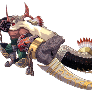 Artwork from <i>Final Fantasy XII: Revenant Wings</i>.