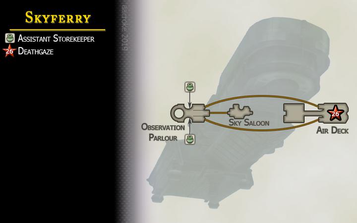 Map 41 Skyferry
