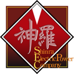 Shinra Electric Power Company logo from Final Fantasy VII Remake