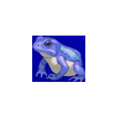 Frog portrait for Cid, Palom, Harley, and Izayoi in <i><a href=
