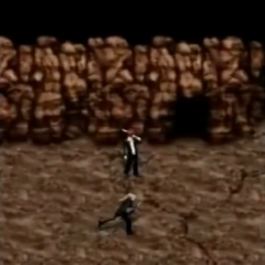 Cosmo Canyon in <i>Before Crisis -Final Fantasy VII-</i>.