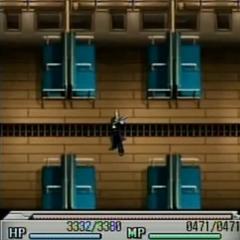 Train interior in <i>Before Crisis -Final Fantasy VII-</i>.