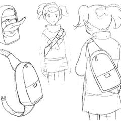 Ai's backpack