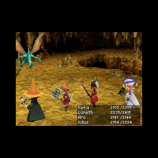 <i>Final Fantasy III</i> (3D).