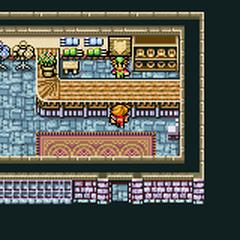 Cornelia's armor shop (GBA).