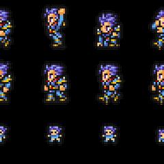 Set of Leon's sprites.