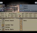 List of Final Fantasy Tactics stats
