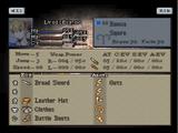 Final Fantasy Tactics stats