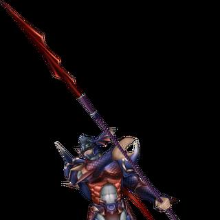 <i>Noir Dragoon</i> - Aparência alternativa baseada no Kain Sombrio.