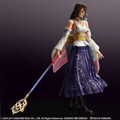 <i>Figure</i> da Play Arts de Yuna do <i>HD Remaster</i>.