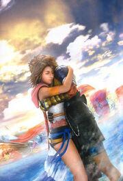 Yuna in-game ffx-2