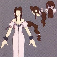 Concept art of first alternate outfit.