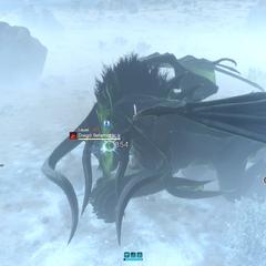 Dread behemoth poisoned.